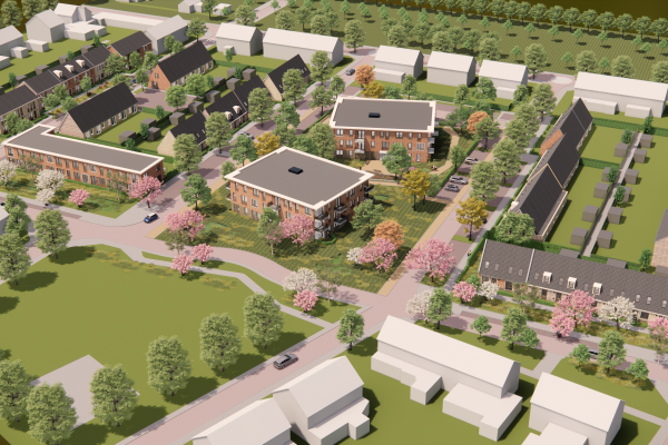WOONstichting Gendt gunt Van Wijnen opdracht voor bouw Staatsliedenbuurt